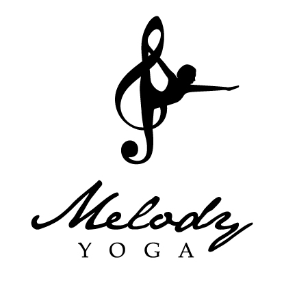 MelodyYoga Logo Vertical